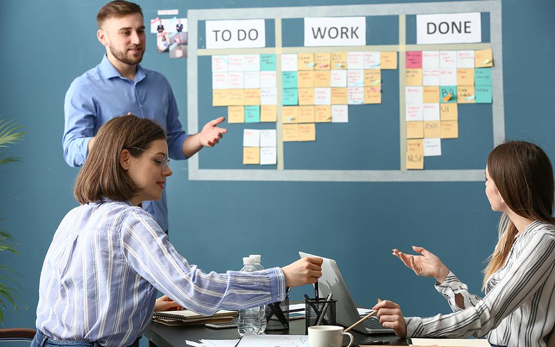 Kanban Board: Projektmanagement in der Rechtsanwaltsgesellschaft